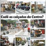 Camelô Cadê as calçadas do Centro II