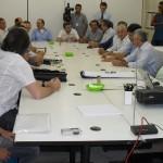 EmpresáriosnaReunião 1/6/2010 com a  titular da Secretaria Executiva Regional do Centro de Fortaleza (Sercefor), Luiza Perdigão