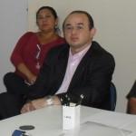 Dep Sérgio Aguiar Reunião 1/6/2010 com a  titular da Secretaria Executiva Regional do Centro de Fortaleza (Sercefor), Luiza Perdigão